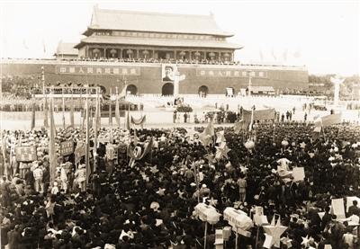 46db5c8b7236 День образования КНР ——Воспоминания о первом октября 1949 года